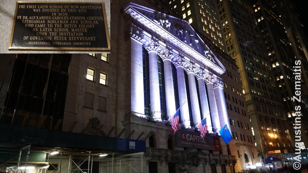 Niujorko akcijų birža