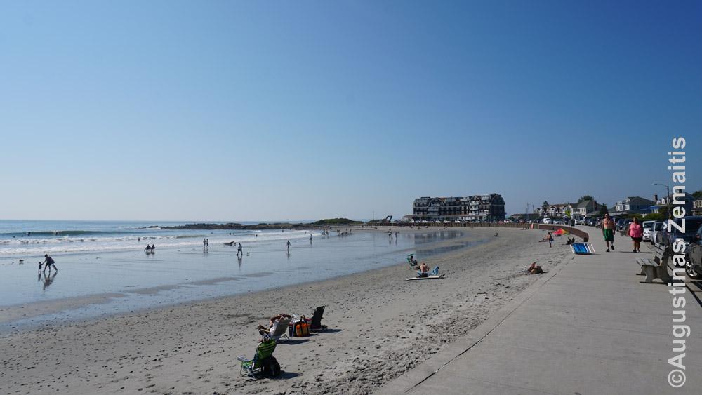 Paplūdimys Kenebunkporte