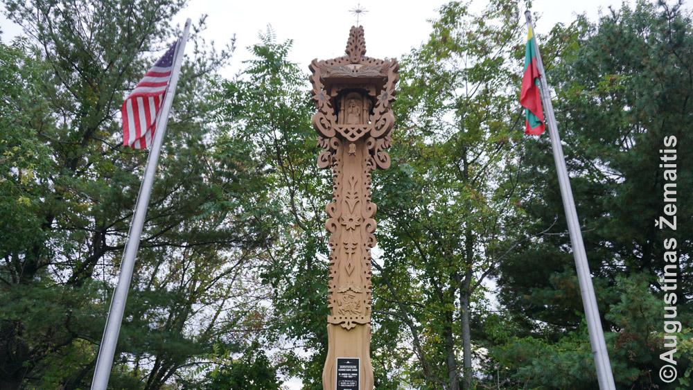 Niu Briteno lietuviškas paminklas