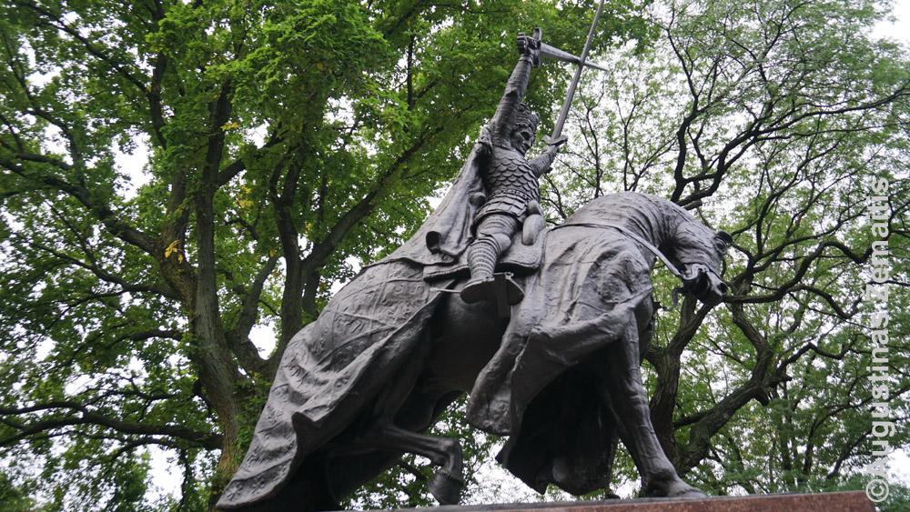 Jogailos paminklas Niujorko centriniame parke