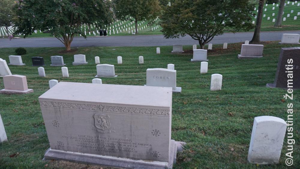 Semiuelio Hariso kapas Arlingtone