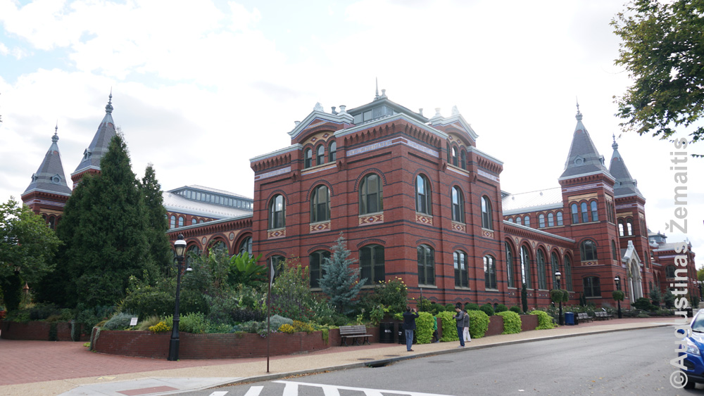 Smitshonian pilisi Vašingtone