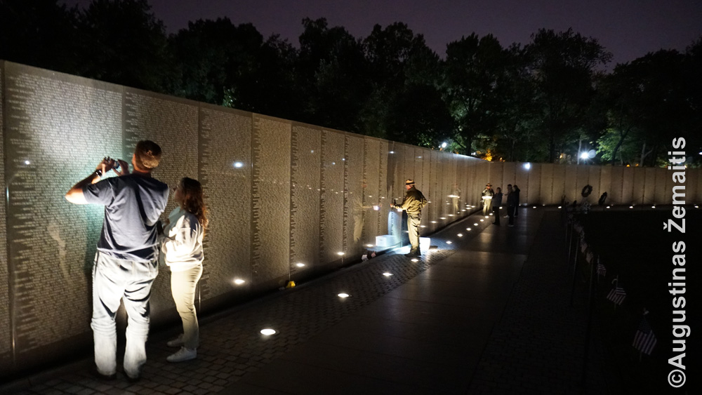 Vietnamo karo memorialas Vašingtone